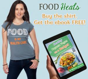 food heals shirt ebook deal